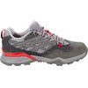 The North Face Hedgehog Hike GTX - Chaussures Femme - gris/rouge